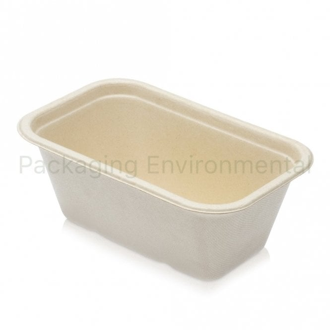 1000ml Bagasse Tray