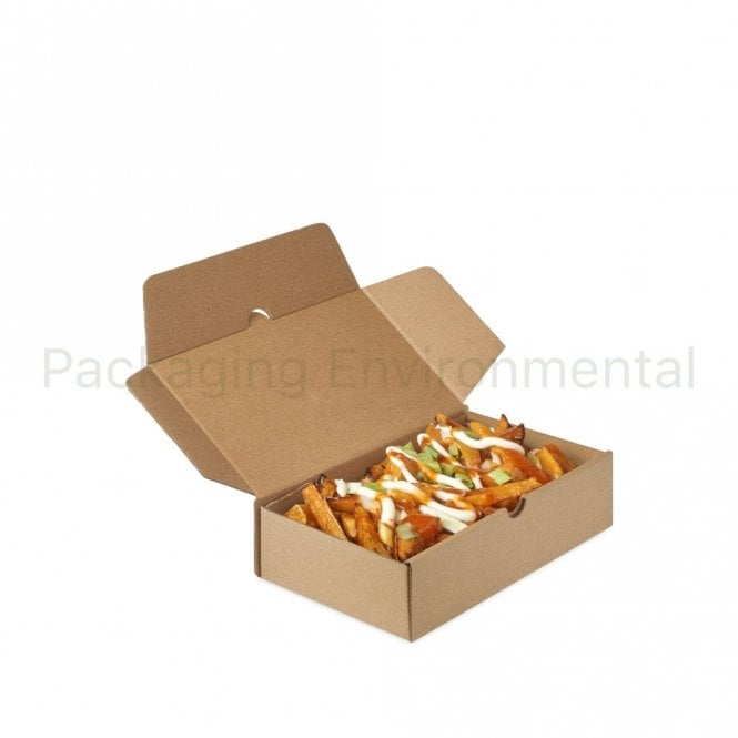 1000ml Corrugated Paper Takeaway Box