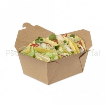 1000ml Kraft Takeaway Box