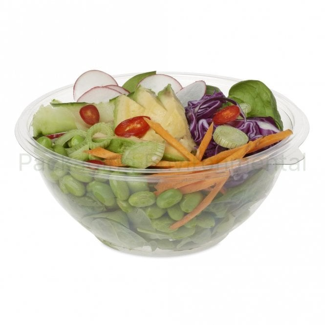 1000ml Plastic Salad Bowl