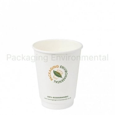 12oz Double Wall Biodegradable Paper Cup