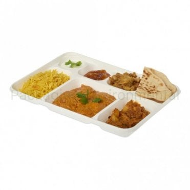 13 x 9-Inch Bagasse Plate