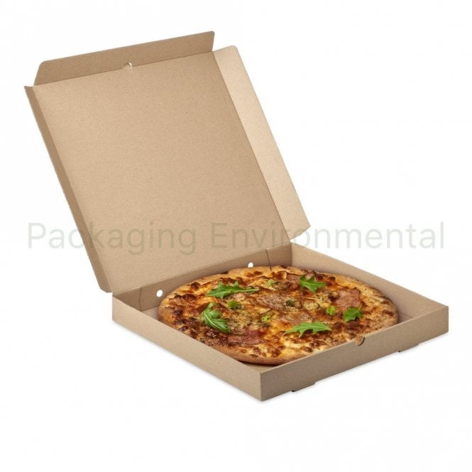 "14"" Kraft Pizza Box"