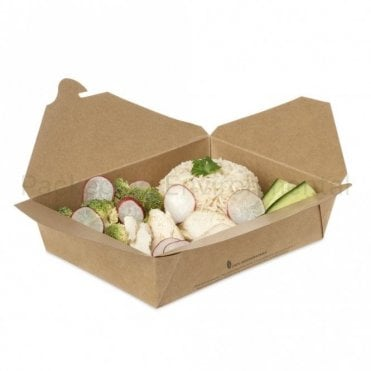 1400ml Biodegradable Takeaway Box