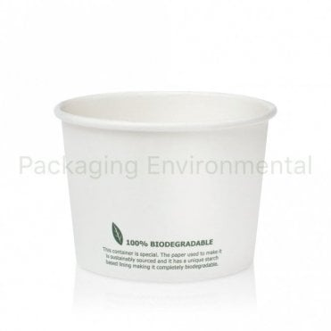 16oz Biodegradable Soup Container