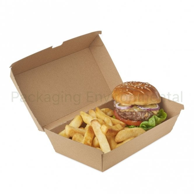 1700ml Corrugated Paper Takeaway Box