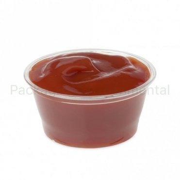 2oz Plastic Portion Pot