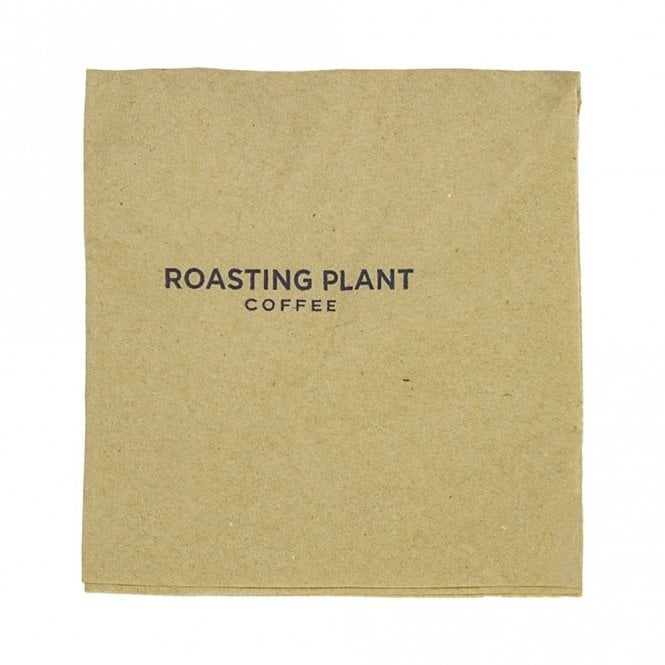 33cm 2-Ply Unbleached Napkins - Roasting Plant
