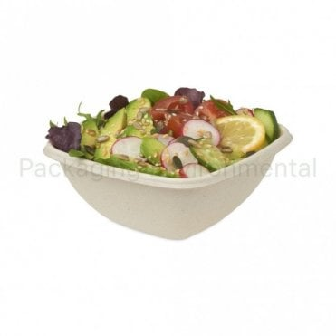 375ml Square Bagasse Bowl
