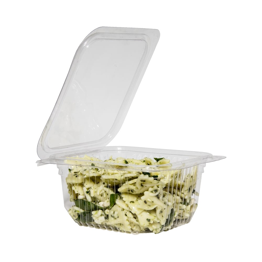 500ml hinged lid salad container packaging environmental for Decor 500ml container