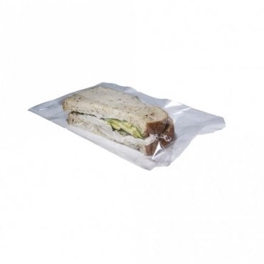 "6"" x 8"" Plastic Sandwich Bag"