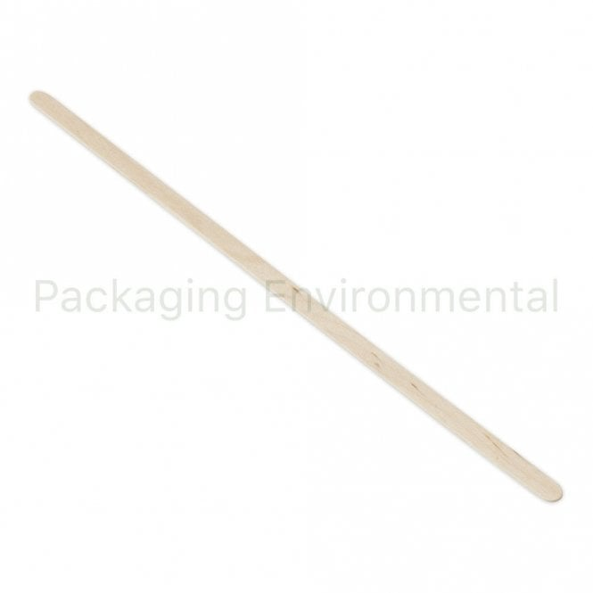 "7.5"" Wooden Stirrer"
