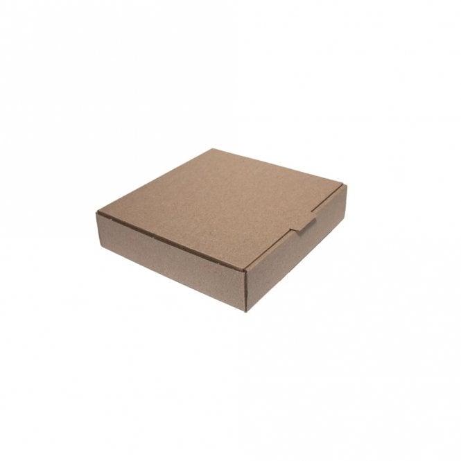"""7"""" Brown Pizza Box"""