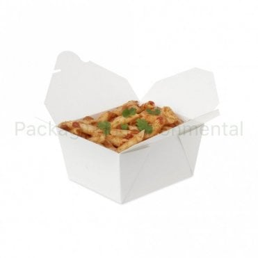 750ml White Takeaway Box