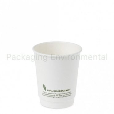 8oz Biodegradable Paper Cup