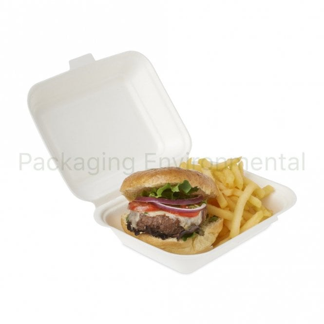 900ml Bagasse Takeaway Box