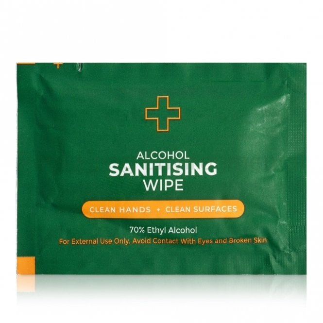 Alcohol Sanitising Wipes
