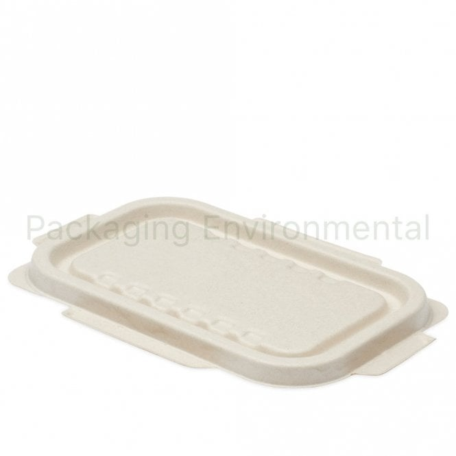 Bagasse Lid for 500/750/1000ml Bagasse Trays