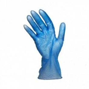 Blue Powder Free Gloves - Large
