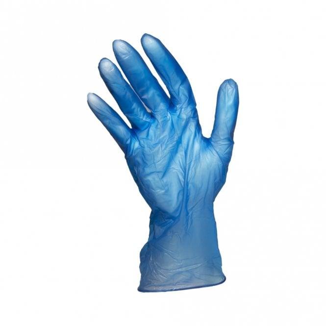 Blue Powder Free Gloves - Medium