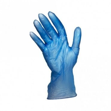 Blue Powder Free Gloves - Medium