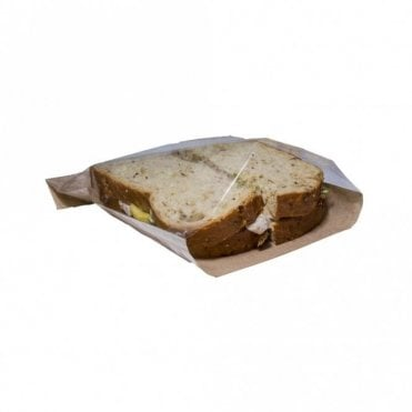 Brown Film Front Sandwich Bag - Small