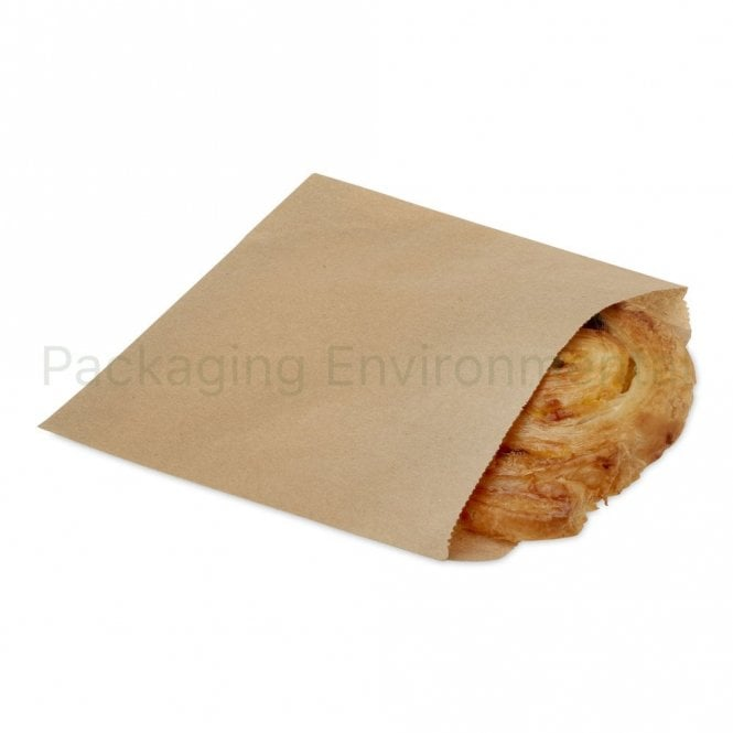 Brown Greaseproof Paper Bag