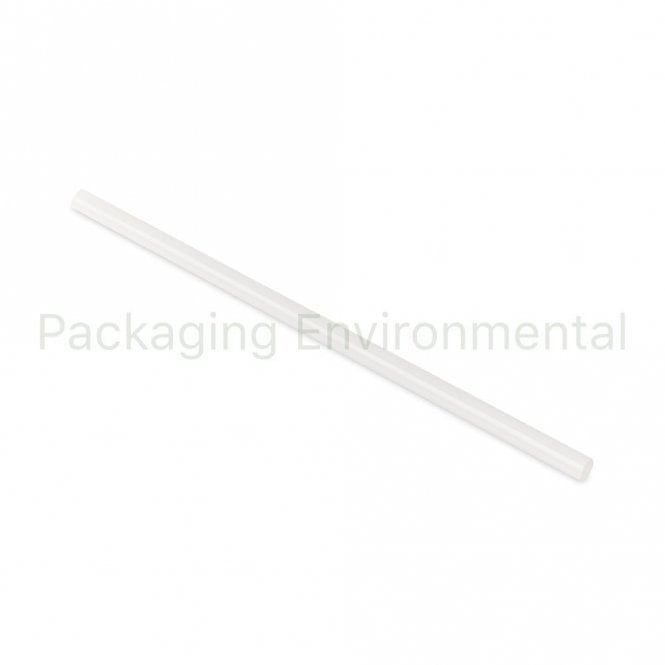 Clear Bioplastic Straw - 210m x 8mm