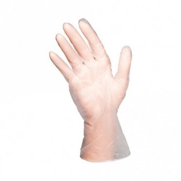 Clear Powder Free Gloves - Medium