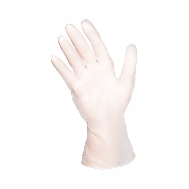 Clear Powder Free Gloves - Small