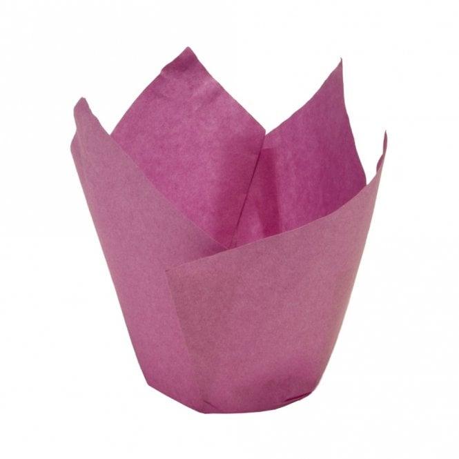 Deep Pink Muffin Wrap