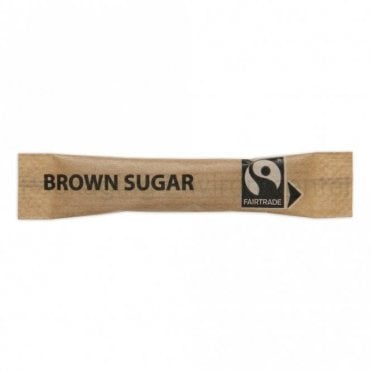 Fairtrade Brown Sugar Sachet