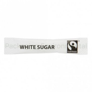 Fairtrade White Sugar Sachet