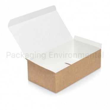 Kraft Paper Chicken Box - Large
