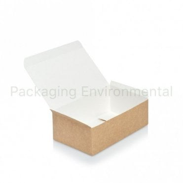 Kraft Paper Chicken Box - Medium