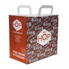 Large Paper Carrier Bag - HOP