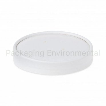 Lid for 16oz Plain White Soup Container