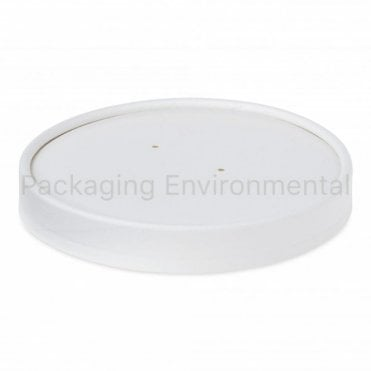 Lid for 26-32oz Plain White Soup Containers