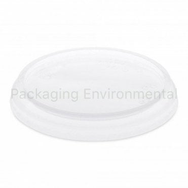 Lid for 8-16oz Bioplastic Deli Pots