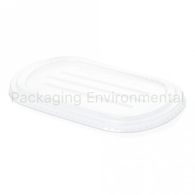 Lid for 850ml Oval Bagasse Bowl