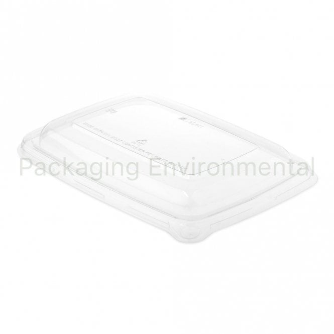 Lid for Rectangular Bagasse Containers