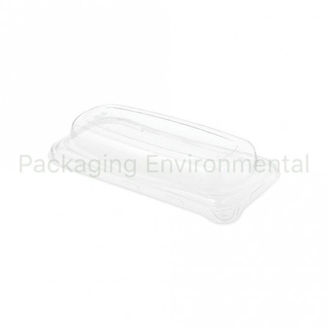 Lid for Small Rectangular Bagasse Tray