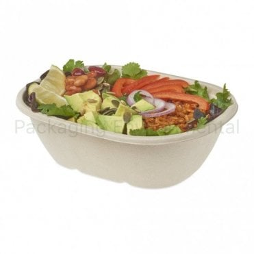 Oval Baggasse Bowl 770ml