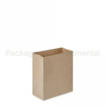 Plain Kraft Carrier Bag - No Handles - 180x85x215