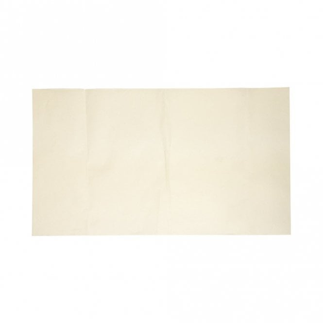 Plain White 480mm x 270mm Greaseproof Sheet