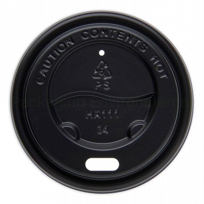 Black Lid for 4oz Paper Cups