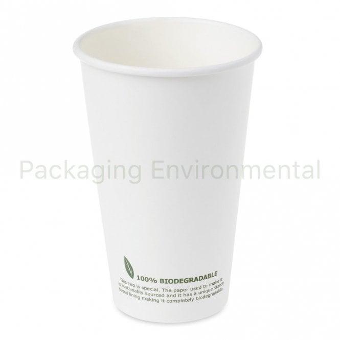 16oz Biodegradable Paper Cup