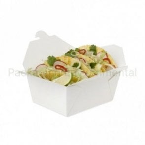 1000ml White Takeaway Box