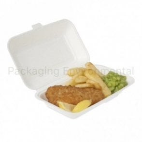 1050ml Bagasse Takeaway Box