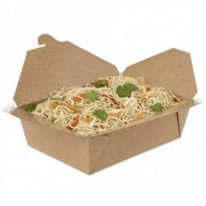1900ml Kraft Takeaway Box